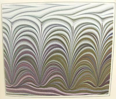 (Frigge, Karli). Marbled Paper