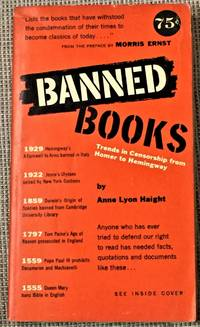 image of Banned Books, Informal Notes on Some Books Banned for Various Reasons at Various Times and in Various Places