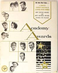 image of Academy Awards 1928-1961...a Complete Portrait Collection of Academy Award Winners
