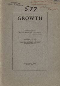 image of Growth: Introduction of the Study of Evolution