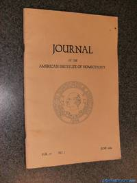 Journal of the American Institute of Homeopathy; Vol. 77, No.2; June 1984