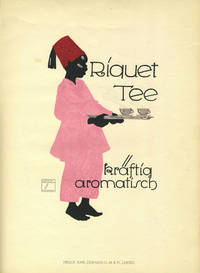 image of Riquet Tee. Color screen printed poster