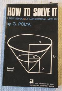 image of How to Solve it - A New Aspect of Mathematical Method