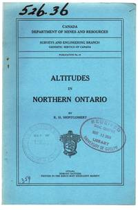 image of Altitudes in Northern Ontario