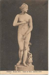 "image of ""Venus de Medici"" Sculpture on 1910s-20s Vintage Postcard."