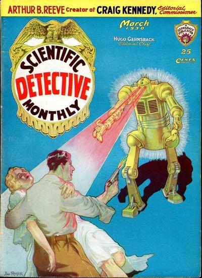 SCIENTIFIC DETECTIVE MONTHLY