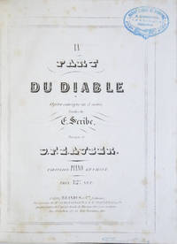 [AWV 36]. La Part du Diable Opéra comique en 3 actes, Paroles de E. Scribe... Partition Piano et Chant. Prix 12 F. net. [Piano-vocal score]