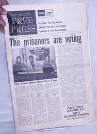 "image of Los Angeles Free Press: vol. 8 #38, #374, Sep 17-23 1971. ""The Prisoners are voting"" [Headline]"