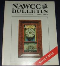 image of February 1991 Issue a Clock and Watch Collectors Magazine Nawcc Bulletin