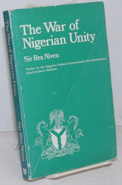 Ibadan / London: Evans Brothers (Nigerian Publishers) Ltd, 1970. Paperback. vii, 175p., numerous lin...