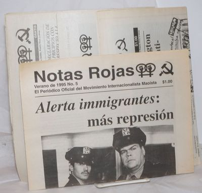 Los Angeles: Moaist International Movement, 2004. Newspaper. Six issues, 8pp., in Spanish, of this f...