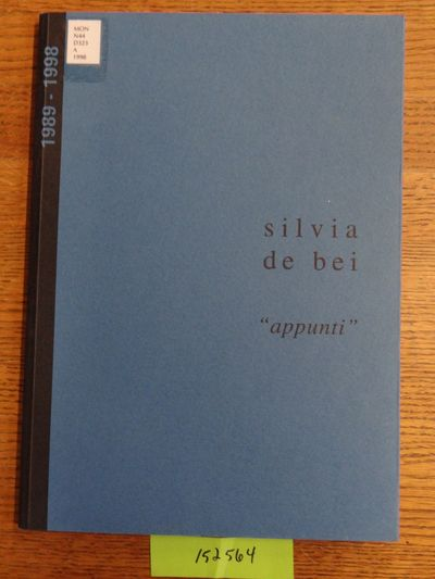 : , 1998. Softcover. VG- (Ex-art library with label and bookplate and few marks, slight scuffs to ba...