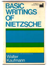 image of Basic Writings of Nietzsche