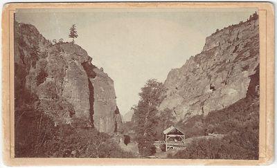 Salt Lake City: Savage & Ottinger, 1872. CDV. Carte de visite. Albumen photograph on the original cr...