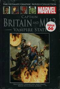 image of Captain Britain and MI13 : Vampire State (Marvel Ultimate Graphic Novels Collection)