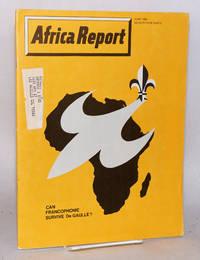 image of Africa report: vol. 13, no.6,  June 1968: Can Francophonie survive De Gaulle