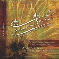 STARTING POINT: FIND YOUR PLACE IN THE STORY: A SMALL GROUP CONVERSATION ABOUT THE STORY OF GOD [WITH 5 CDS] ) by Andy Stanley - 2008-12-09 - from Books Express and Biblio.com