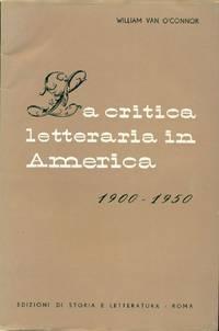 La critica letteraria in America 1900-1950