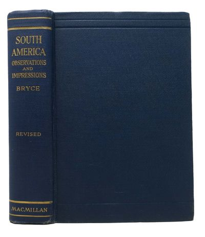 New York: MacMillan, 1914. 1st printing of the corrected & revised edition. Blue cloth binding with ...