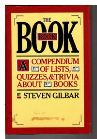 image of THE BOOK BOOK: A Compendium of Lists, Quizzes & Trivia about Books.