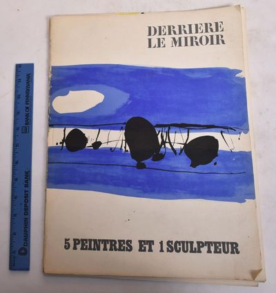 Paris: Maeght Editeur, 1965. Softcover. VG- (staining and wear to wraps, wear and tear to spine, lig...