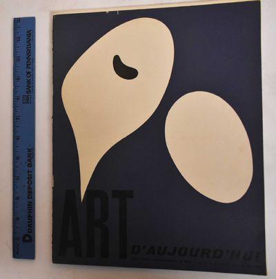 Paris: Art d'Aujourd'hui, 1953. Softcover. VG-, slight wear along edges, rubbing on covers.. Illustr...