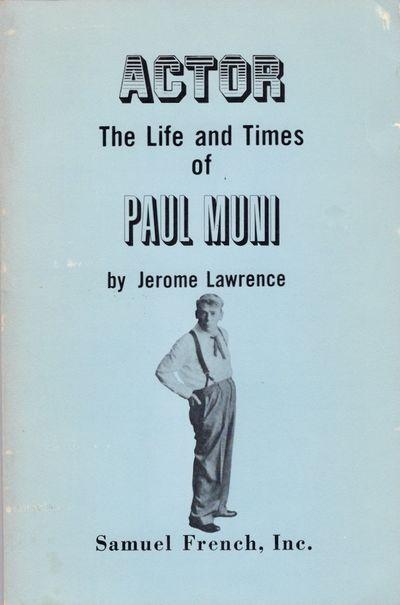 n.p.: Samuel French, Inc, 1974. Paperback. Good +. Paperback. 380 pages. Light blue paper illustrate...