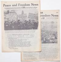 image of Peace and Freedom News [two issues: 20, 21]