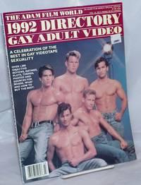 image of The Adam Film World 1992 Directory Gay Adult Video: vol. 14, #3, [aka vol.13 #10, Decmber 1991]