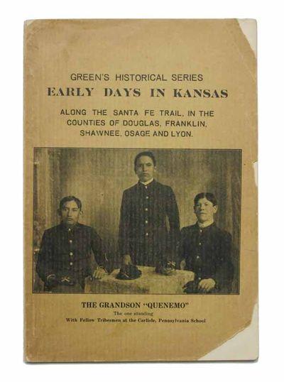 Olathe, Kansas: Charles R. Green, 1912. 1st printing (Rader 1666; Graff 1636 ). Printed dull yellow ...