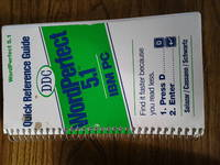 Quick Reference Guide WordPerfect 5.1