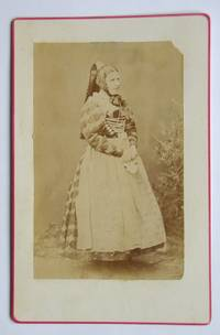 Cabinet Photograph: A Lady in German(?) National/Traditional Costume.