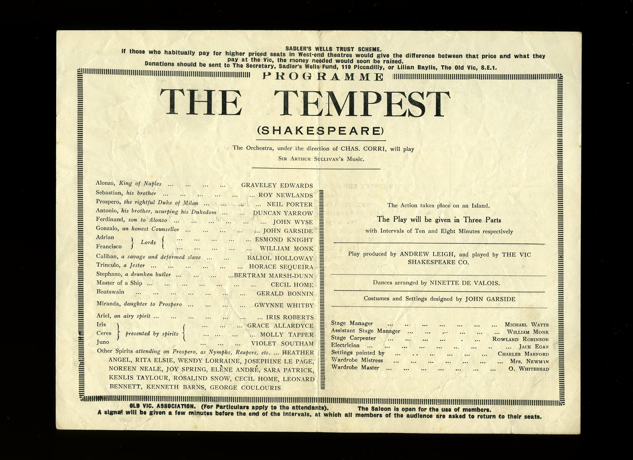 Study Guide for The Tempest: Three Major Themes, Motifs, and Concepts