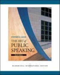image of The Art of Public Speaking: With Student CDs 5.0, Audio CD set PowerWeb and Topic Finder