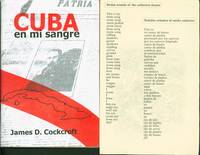 Cuba en mi sangre: Entrevistas, ensayos, poemas by  James D Cockcroft - Paperback - Signed First Edition - 2009 - from Eureka Books (SKU: 182774)