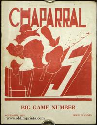 Chaparral. Big Game Number. November, 1921