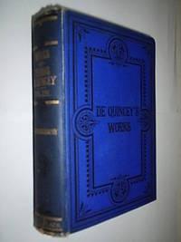 De Quincey's Works 1790-1903.Volume 14