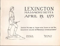 image of Children's Coloring Books of Lexington Massachusetts with stories of the day the American Revolution Began April 19, 1775, A.