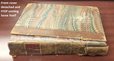 Boston: C. S. Francis & Co, 1857. Hardcover. Octavo; Fair Plus condition, worn leather spine with gi...