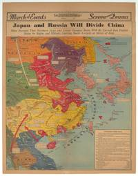 Japan and Russia Will Divide China. Signs Increase That Northern Area and Lower Yangtze Basin Will be Carved Into Puppet States by Stalin and Mikado, Leaving South Largely at Mercy of Both.  PICTORIAL REVIEW: Los Angeles Examiner Sunday, April 28, 1940.