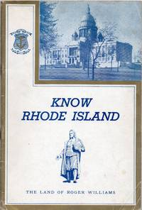 image of Know Rhode Island Facts Concerning the Land of Roger Williams
