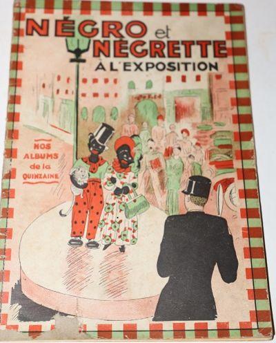 Négro et Négrette à l'Exposition