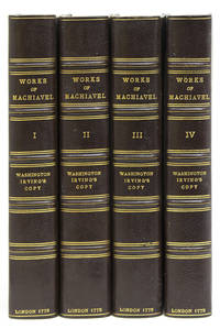 The Works of Nicolas Machiavel, Secretary of State to the Republic of Florence. Translated ... by Ellis Farnesworth