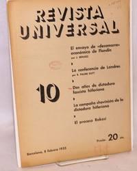 Revista universal 10, 8 febrero 1935