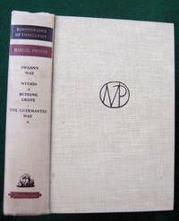 image of REMEMBRANCE OF THINGS PAST, VOLUME ONE: SWANN'S WAY, WITHIN A BUDDING GROVE, THE GUERMANTES WAY