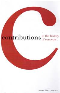 image of Contributions to the History of Concepts: Vol 6, Issue 2 Winter 2011