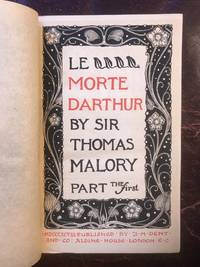 Le Morte Darthur The Temple Classics (complete in four volumes)