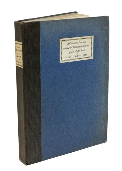 San Francisco: Gelber, Lilienthal, Inc, 1932. 1st ed. Limited to 400 cc (Heller & Magee166). Cloth b...