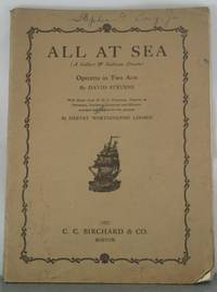 ALL AT SEA (A GILBERT AND SULLIVAN DREAM) OPERETTA IN TWO ACTS
