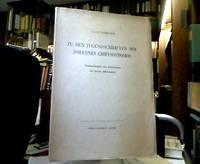 Zu den Jugendschriften des Johannes Chrysostomos : Untersuchungen zum Klassizismus des vierten...